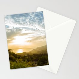 Caribbean Sunset - Martinique Stationery Cards