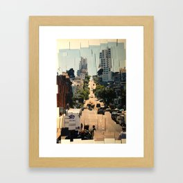 It's a Cubist's World Framed Art Print