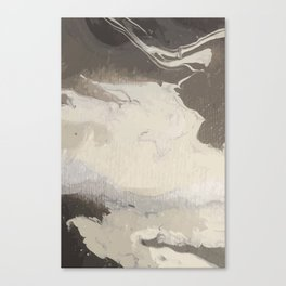 Marbled Hot Chocolate Canvas Print