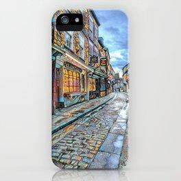 York Shambles Street Art iPhone Case