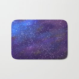Starlit Space Bath Mat