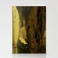 train Stationery Cards featuring train by MartaSyrko