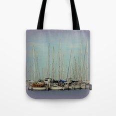 Flotilla of Yachts  Tote Bag