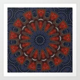 Better than Yours Colormix Mandala 13 Art Print
