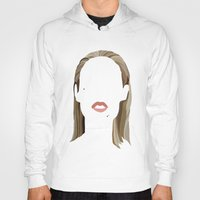 iggy Hoodies featuring Iggy by Bethany Mallick