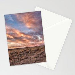 Land of Sagebrush and Wild Horses Stationery Cards