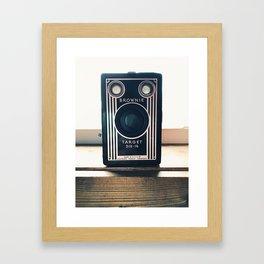 Vintage Camera - Kodak Brownie Framed Art Print