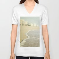 florida V-neck T-shirts featuring Florida by Pure Nature Photos