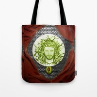 thor Tote Bags featuring Thor by Creadoorm