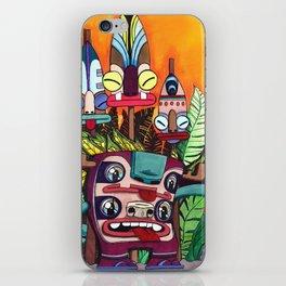 Voodoo Monster Party! iPhone Skin