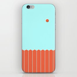 Six and Out iPhone Skin