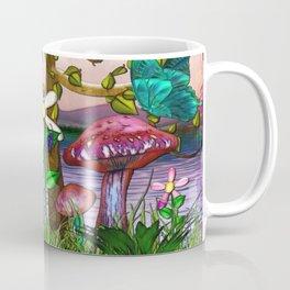 Whimsey Gardens Fantasy Art Coffee Mug