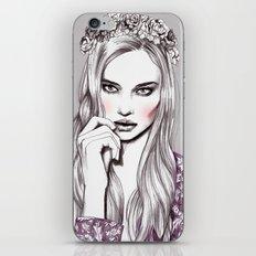Violet iPhone & iPod Skin