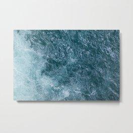Mountain Waters I (Norway) Metal Print