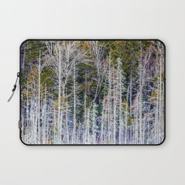 a frame of trees Laptop Sleeve