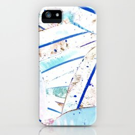 Natural plant leaves iPhone Case
