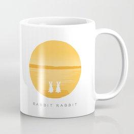 Rabbit Rabbit Sunrise Coffee Mug