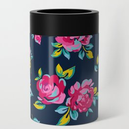 Raspberry Roses Can Cooler