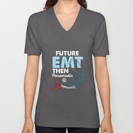 EMT Paramedic Emergency Medical Technician Gift Unisex V-Neck
