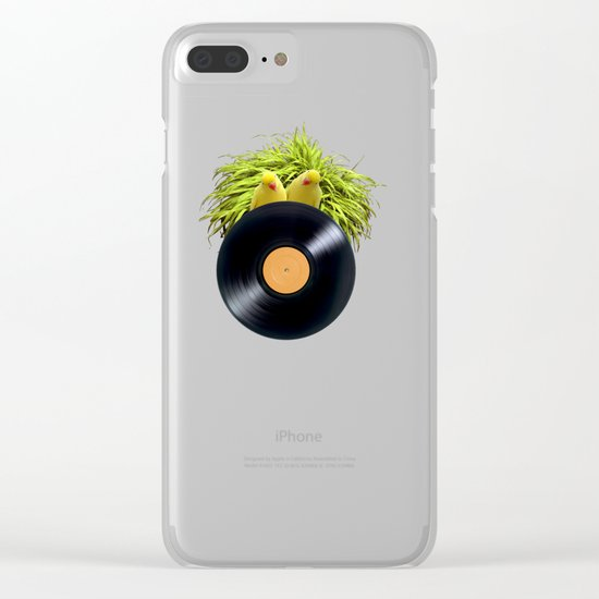 Summer Sound System Clear iPhone Case