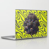 turkey Laptop & iPad Skins featuring Side Turkey by helsch photography