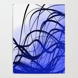 Blue Movement Poster