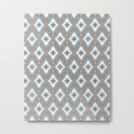Tiling Metal Print