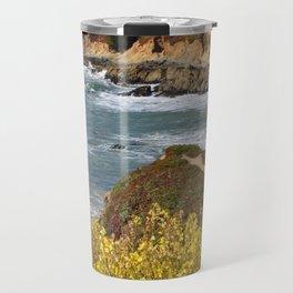 California Coast Overlook Travel Mug