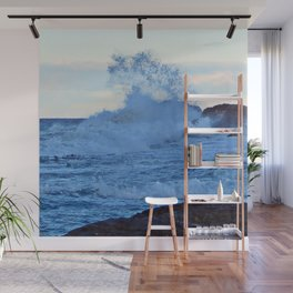 Exploding Surf Wall Mural