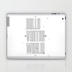 Hello world ! Laptop & iPad Skin