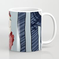 drink Mugs featuring DRINK by Ivano Nazeri