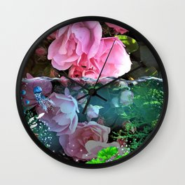 Rose Pond Wall Clock