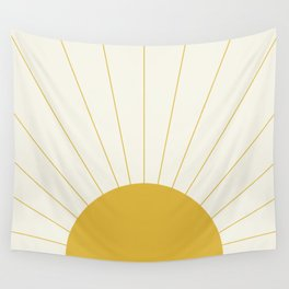 Sunrise / Sunset Minimalism Wall Tapestry