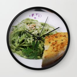PESTO PASTA! Wall Clock