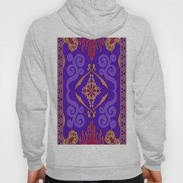 Flying Carpet Aladdin Purple Magic Carpet Hoody