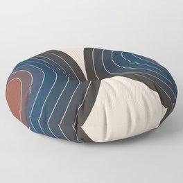 Sonar - Dusk Floor Pillow