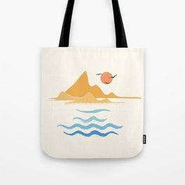 Minimalistic Summer III Tote Bag