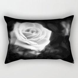 Pink Roses in Anzures 1 Dark Rectangular Pillow