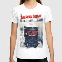 grease T-shirts featuring American grease by Vorona Photography