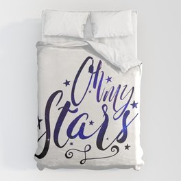 Oh My Stars   Inverse Duvet Cover