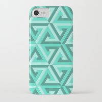 lv iPhone & iPod Cases featuring Geometrix LV by Harvey Warwick