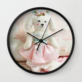 Darling Dog Wall Clock