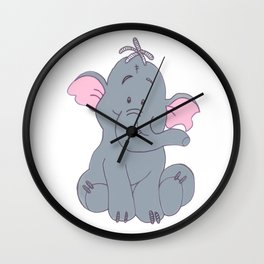 Elefant Wall Clock
