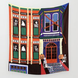 Haunted house - Halloween  Wall Tapestry