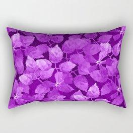 watercolor Botanical garden IV Rectangular Pillow