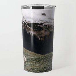 Sheep II / Bavarian Alps Travel Mug