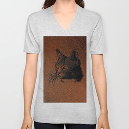 Cat20170501_by_JAMColorsSpecial Unisex V-Neck