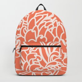 Coral Chrysanth 2 Backpack