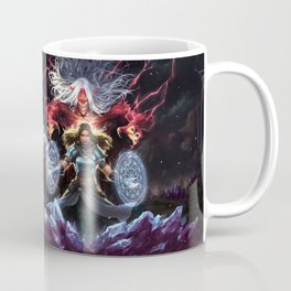 Crystal Caged Full Wrap Coffee Mug