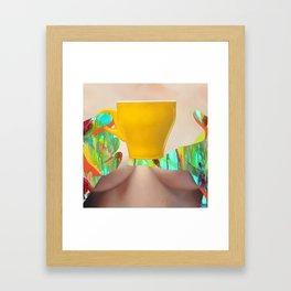 My Morning Coffee Framed Art Print